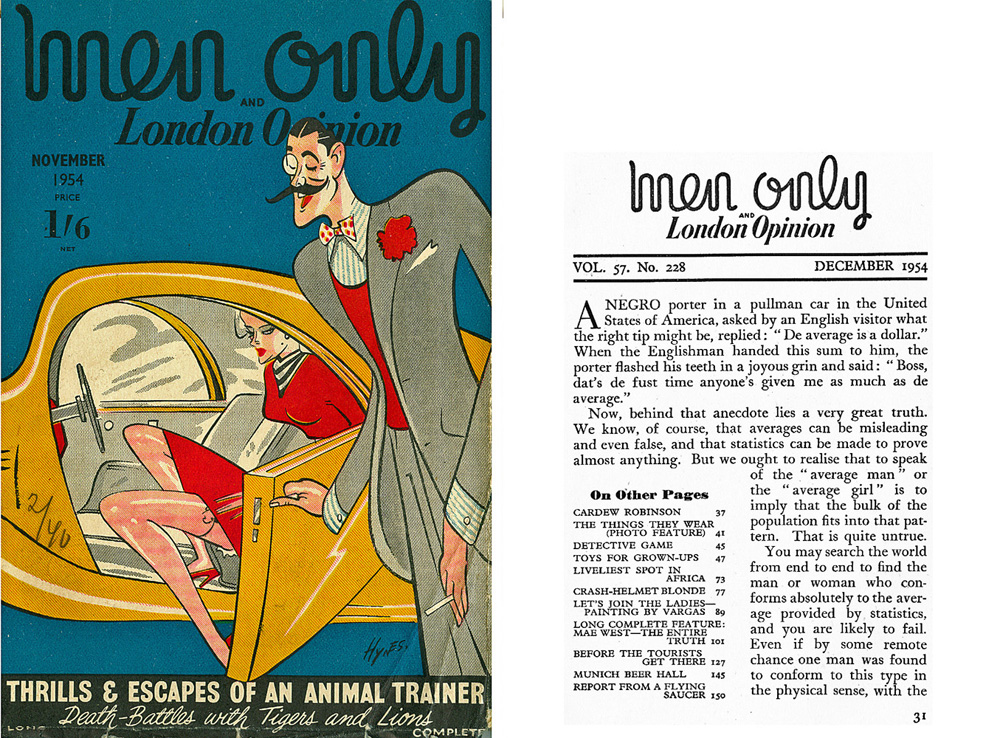 Men Only - London Opinion - 1954
